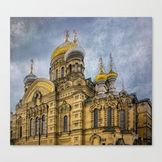 Church of the Assumption of the Blessed Virgin Mary - St. Petersburg Canvas Print