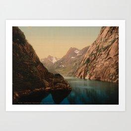 """Lofoten Trollfjord Norway"" Art Print"