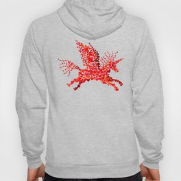 Extremely hearty unicorn pegasus Hoody