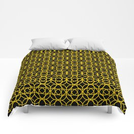 Gold Chainmail Comforters