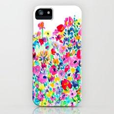 Flower Fields Pink iPhone (5, 5s) Slim Case