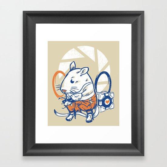 Rat Subject Framed Art Print