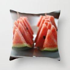 Watermelon II Throw Pillow