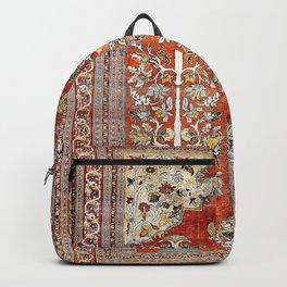 Silk Tabriz Northwest Persian Rug Backpack