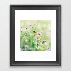 In the garden of bliss Framed Art Print