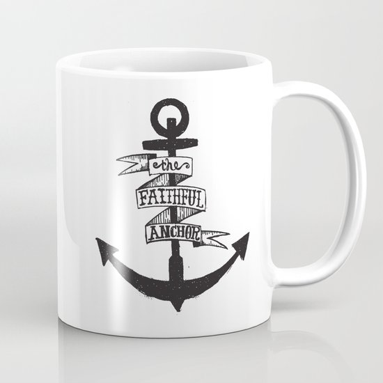 The Faithful Anchor Mug