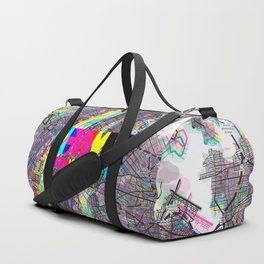 NYC CMYK Slogan Duffle Bag