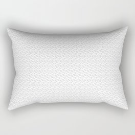 Cracked Leaf Repeat Pattern Rectangular Pillow