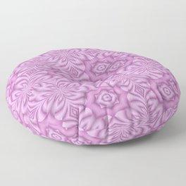 Pretty Pink In My Garden Floor Pillow