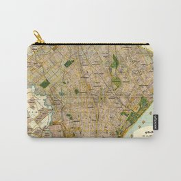 Vintage Map of Buenos Aires Argentina (1921) Carry-All Pouch