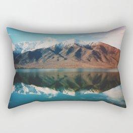 Film photo of New Zealand Glacier Landscape Rectangular Pillow