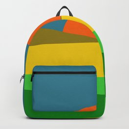 Sunset on the Field Backpack