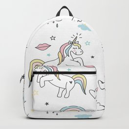 Unicorns & Rainbows Backpack