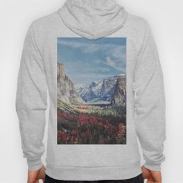 Tunnel View Yosemite Valley Hoody