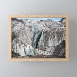 Wall Of Dirty Ice Framed Mini Art Print
