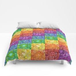 2012 Rainbow -checkered Comforters