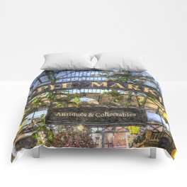 The Apple Market Covent Garden London Art Comforters