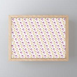Breakfast Time with Coffee & Eggs on Bacon & Toast Framed Mini Art Print