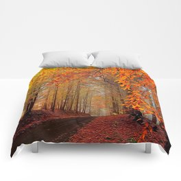 Autumn Parade Comforters