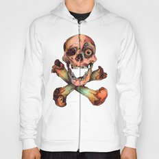 Skull in Color Hoody