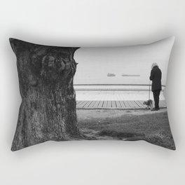 Lets Take a Walk Rectangular Pillow