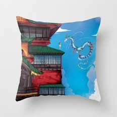 I know your name. Throw Pillow