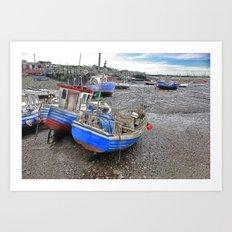 Fishing Fleet - Paddy's Hole Art Print