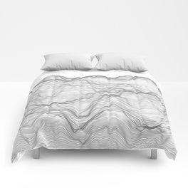 Soft Peaks Comforters
