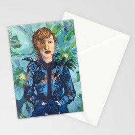 Blue Violet Stationery Cards