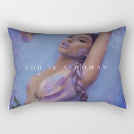 Ariana - God is a woman Rectangular Pillow