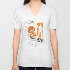 Are You Afraid of the Dentist? Unisex V-Neck