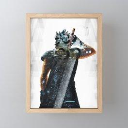 Soldier Hero Framed Mini Art Print