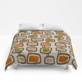 Dangling Rectangles Mid-Century Comforters