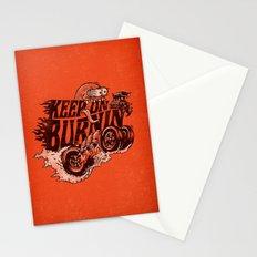 'KEEP ON BURNIN' Stationery Cards