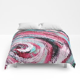 Spiral honeymoon Comforters