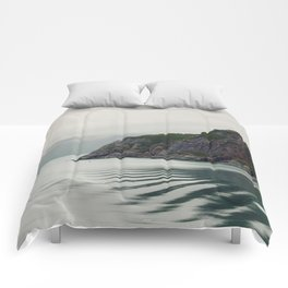 Ripples in the Bay Comforters