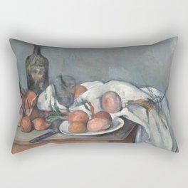 Still Life with Onions Rectangular Pillow