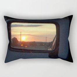 Don't look back Rectangular Pillow