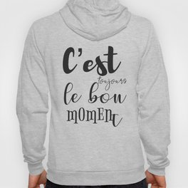 French motivation success quote Hoody