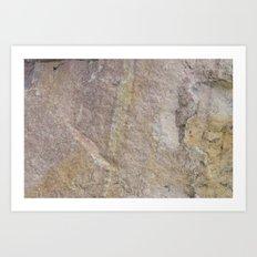 Sioux Falls Rocks #1 Art Print