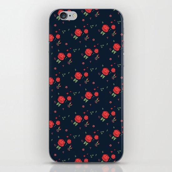 Classic western rose pattern iPhone & iPod Skin