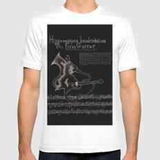 Hippocampus Hendricksium  Mens Fitted Tee White MEDIUM