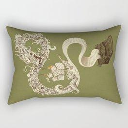 Unleashed Imagination Rectangular Pillow