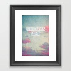 limitless mind Framed Art Print