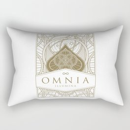 Omnia Illumina tuck box Rectangular Pillow