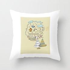 Dream Jelly Throw Pillow