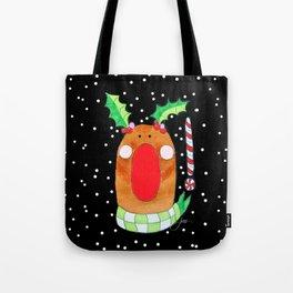 Red Nose Reindeer Tote Bag