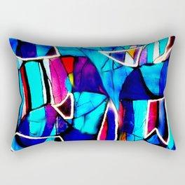 Blue Love Rectangular Pillow