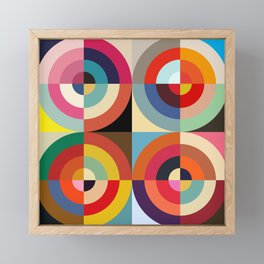 4 Seasons Framed Mini Art Print