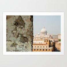 {Basilica Papale di San Pietro in Vaticano} Art Print